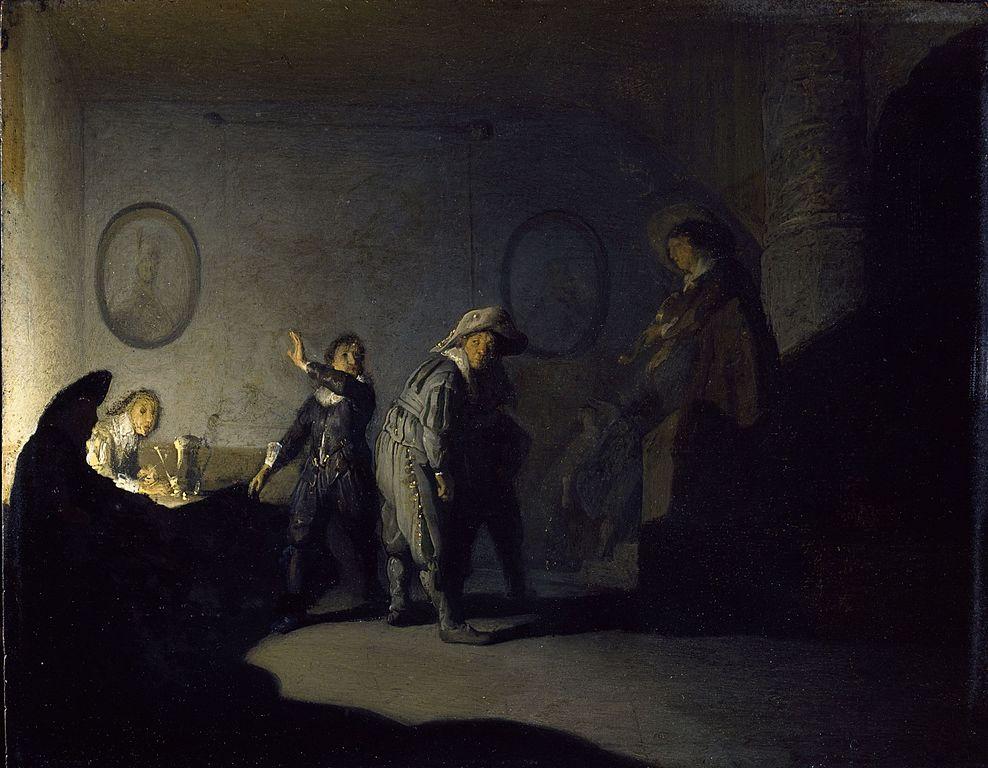 Rembrandt, en skicklig självporträtts konstnär