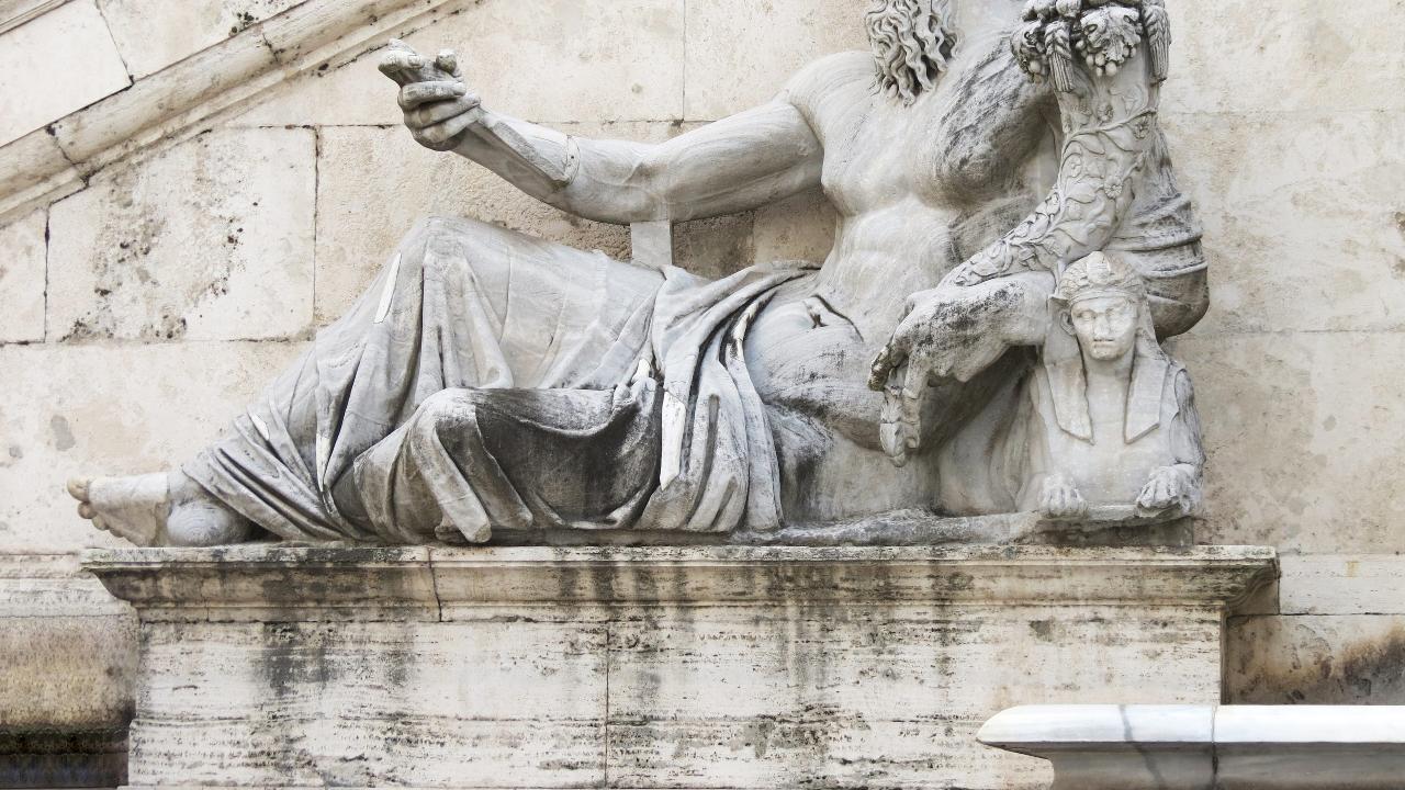 Michelangelo, en världskänd konstnär