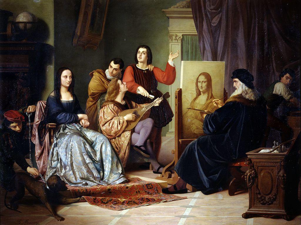 Mona Lisa, ett världskänt porträtt